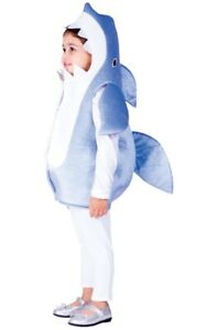 Dress Up America Blue Shark Kids Costume