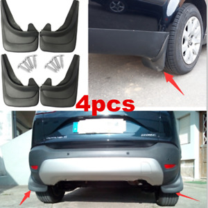 Set Of 4 Front & Rear Splash Mud Guards Flaps Car Truck Accessories Universal