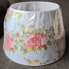 "Aladdin Lattice Rose Bouquet 14"" Parchment Shade for alladin oil /kerosene lamp"