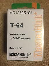 Resin Tracks for T-64 MC135051CL MasterClub, 1/35