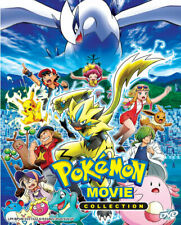 Pokemon The Movie Collection (25 Movies) Dvd with English Subtitle
