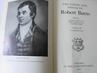 Poems and Songs of Robert Burns 1968 Limited 1st Editon Hardback - Oxford Press