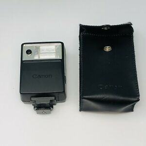 Canon Speedlite 133A Shoe Mount Camera Flash With Case