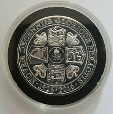More details for 2016 gibraltar hm queen elizabeth ii 90th birthday half crown coin bunc bu coa