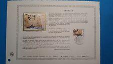 FRANCE DOCUMENT ARTISTIQUE YVERT 2463 ETRETAT DELACROIX 1987  L501