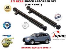 Para Hyundai Santa Fe 2.2 2.7 2006 > 2x Amortiguador trasero izquierda derecha conjunto absorbedor Shocker