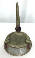 1949 Uss Worcester Cl-144 Trench Art Lighter Ashtray