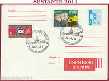 ITALIA FDC MAGYAR POST PATTO DI ROMA 1984 DI VITTORIO BUOZZI GRANDI TORINO T415