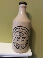 More details for bowler of bath.vintage stone bottle 7.5 inches high full and capped
