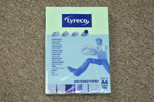 LYRECO CARD A4 160GSM GREEN - PACK OF 250 SHEETS - 3.045.048
