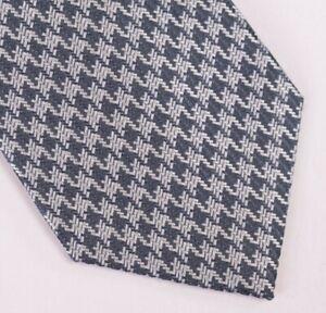 Tom Ford NWT Neck Tie In Blues & Silver Geometric Basketweave 100% Silk