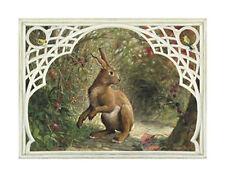 Missy Rabbit Art Poster Print by Dot Bunn, 19x13