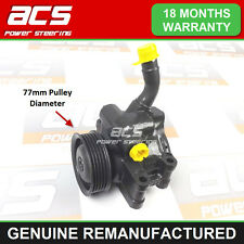 POWER STEERING PUMP FORD FIESTA 1.4 16v 2002> (NO SURCHARGE) RECONDITIONED