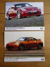 """NISSAN 350Z avec visibilité aero kit publicité / des photos de presse """"brochure"""" JM"""