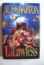 L is for LAWLESS  by SUE GRAFTON (1995) 1st ED. SIGNED HB