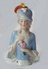 Emma Half Doll Mold - Plaster Mold Made To Cast Porcelain Or Ceramic