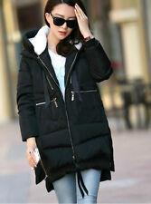 2018 UK Winter Fashion women long sleeve chunky cotton coat maternity jacket
