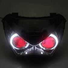Angel Eye Headlight Assembly HID Projector For Kawasaki Z800 2013-2016 Z300 Z250