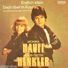 """7"""" MONIKA HAUFF & HENKLER Endlich allein / OST DEFA Dach über'm Kopf AMIGA 1980"""