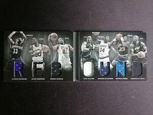 2011 Panini Preferred REBOUND Ewing / Robinson / Rodman / Shaq / Olajuwon /199