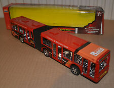 ARTICULATED BUS - MERCEDES O405 - TRAILBLAZER HAPPY BUS- SIKU-BASED FRICTION TOY