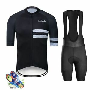 Cycling Jersey Triathlon Men Set Short Sleeve Breathable Maillot Summer Clothing