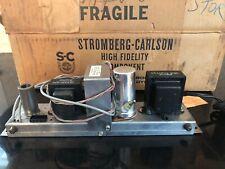 Nos New Boxed Stromberg-Carlson Rv-520 Reverberation Amplifier Delay & Speaker