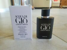 Giorgio Armani Acqua Di Gio Profumo 2.5 oz New Mens Cologne 100% Authentic