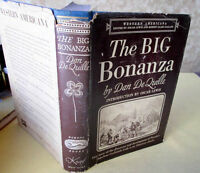 THE BIG BONANZA,1847,Dan DeQuille,1st Ed,Illust,DJ