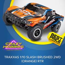 TRAXXAS 1/10 SLASH BRUSHED 2WD (Orange-X) RTR *IN STOCK*