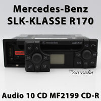 Original Mercedes Audio 10 CD MF2199 CD-R Autoradio SLK-Klasse R170 Radio W170