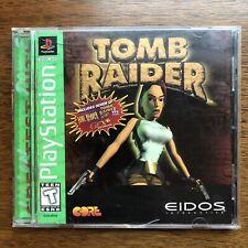 New listing Tomb Raider [Ps1 Original] 1996 Sony PlayStation - Complete Cib (Greatest Hits)