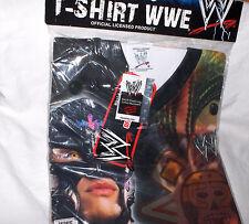 Rey Mysterio - WWE T-SHIRT 100% Polyester Gr.M  --- NEU,OVP,RARITÄT,Lizenz