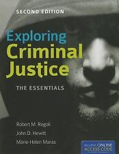 Exploring Criminal Justice: The Essentials