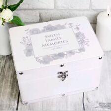 Personalised Keepsake Memory Box For Her Mum Baby Family Box Christmas Gift