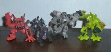 Transformers Robot Heroes 4 Figure Lot MUDFLAP RAVAGE STARSCREAM RATCHET