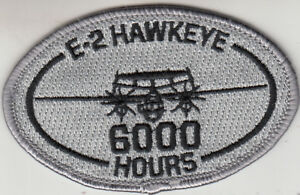 VAW-120 E-2 HAWKEYE 6000 HOURS OVAL PATCH