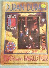 DURAN DURAN Seven and the Ragged Tiger SONGBOOK Sheet Music Photos Book VTG 1983