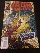 The Invincible Iron Man #302 vs Venom. 1994 + new warriors appearance.