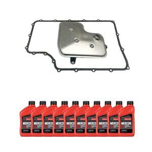 OEM Ford 6R140 Transmission Service Kit & Fluid For 11-19 F-250/F-350 Diesel/Gas