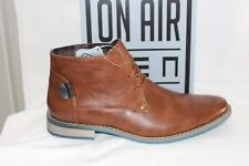 Mens SHOES/FOOTWEAR - SOA Cameron tan lace up boot