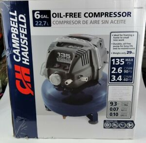 Air Compressor 6 Gallon Oil Free Nailing Stapling Brad Nailing Hobby Painting
