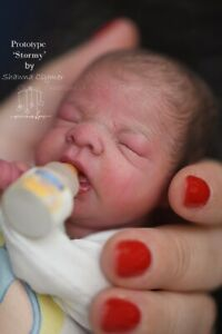 """Stormy @New Reborn Mini Baby Doll Kit By Shawna Clymer@LE500@8.5"""""""