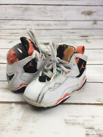 NIKE SNEAKERS Baby Boys Air Jordan True Flight High Tops Shoes White Black 8 C