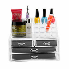 Makeup Organizzatore cosmetici in acrilico caso Caddies Storage titolare inserisci in ordine di