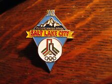 Salt Lake City Olympics Lapel Pin - 2002 Utah Winter Olympic Games Souvenir Pin