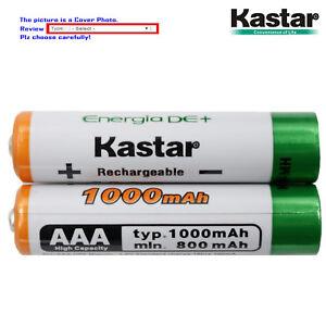 Kastar AAA Battery Replacement for Panasonic KX-TGA630 KX-TGA653 KX-TGA680B