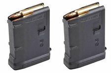 2 - PACK Black 10 Round ONLY Magazine - 5.56 223 - 10rd Polymer Enhanced Mag MVP