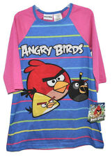 BELLE ROBE CHEMISE DE NUIT ANGRY BIRDS 7-8 ans ( jeu mobile iphone )