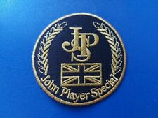 JPS John Player Special Sew / Iron On Patch Motorsports Rally Car Racing Badge